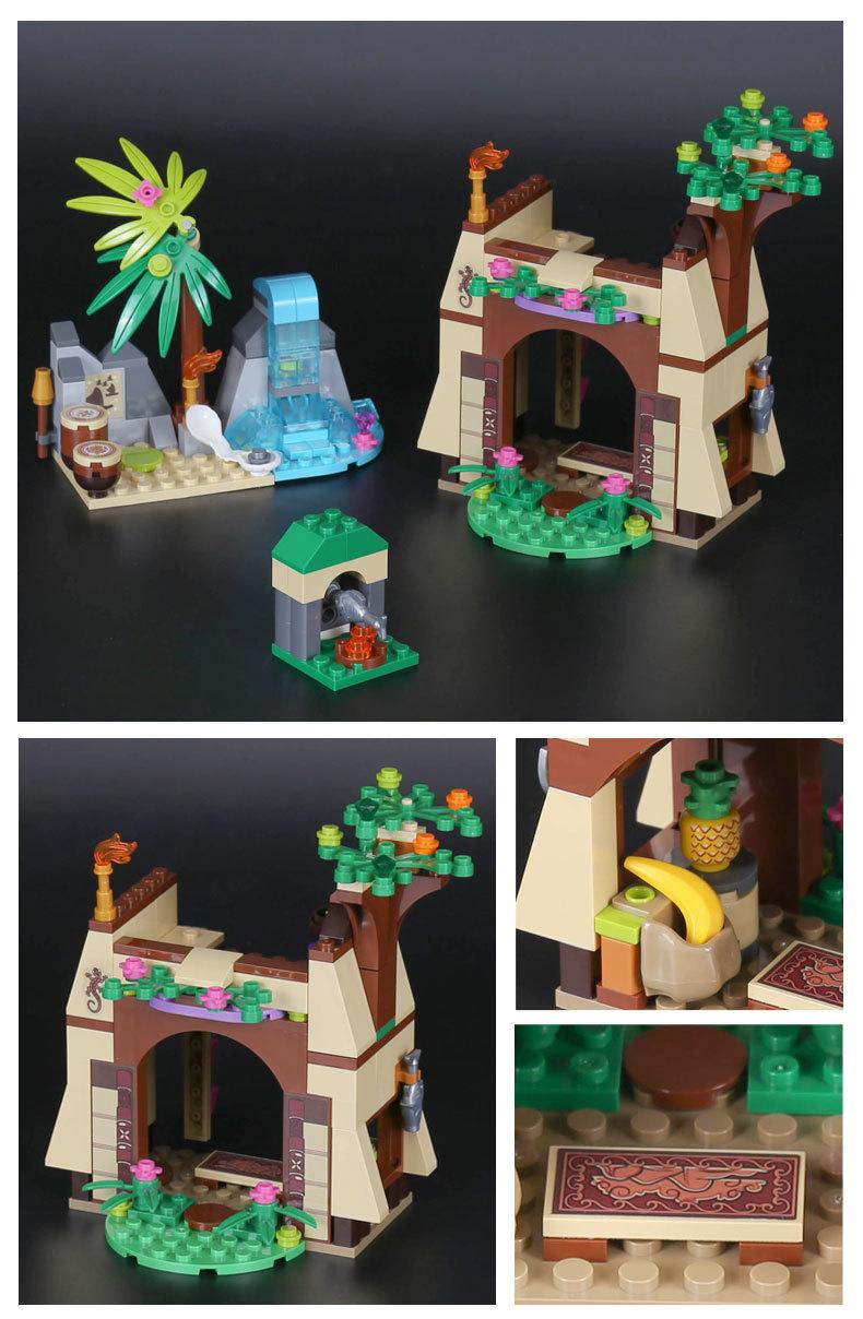 LEPIN 25004 Moana's Island Adventure Building Bricks Set