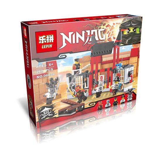 LEPIN 06034 Building Blocks Toys Kryptarium Prison Breakout Building Brick Sets