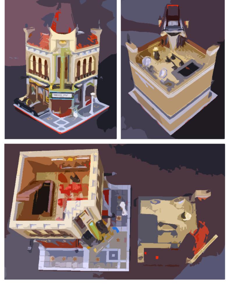LEPIN 15006 Palace Cinema Building Bricks Set