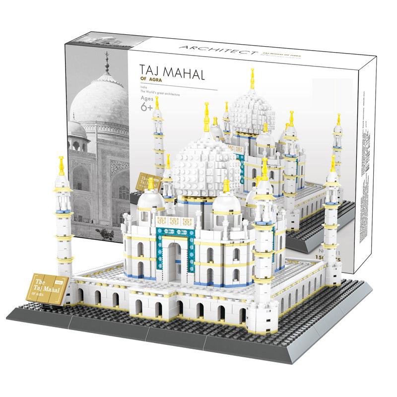 WANGE Architecture Indian Taj Mahal 5211 Building Blocks Toy Set