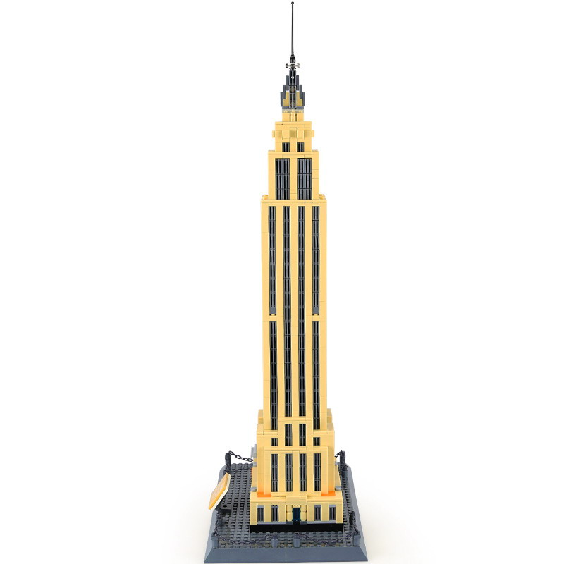 WANGE Architecture American Empire State 5212 Building Blocks Toy Set