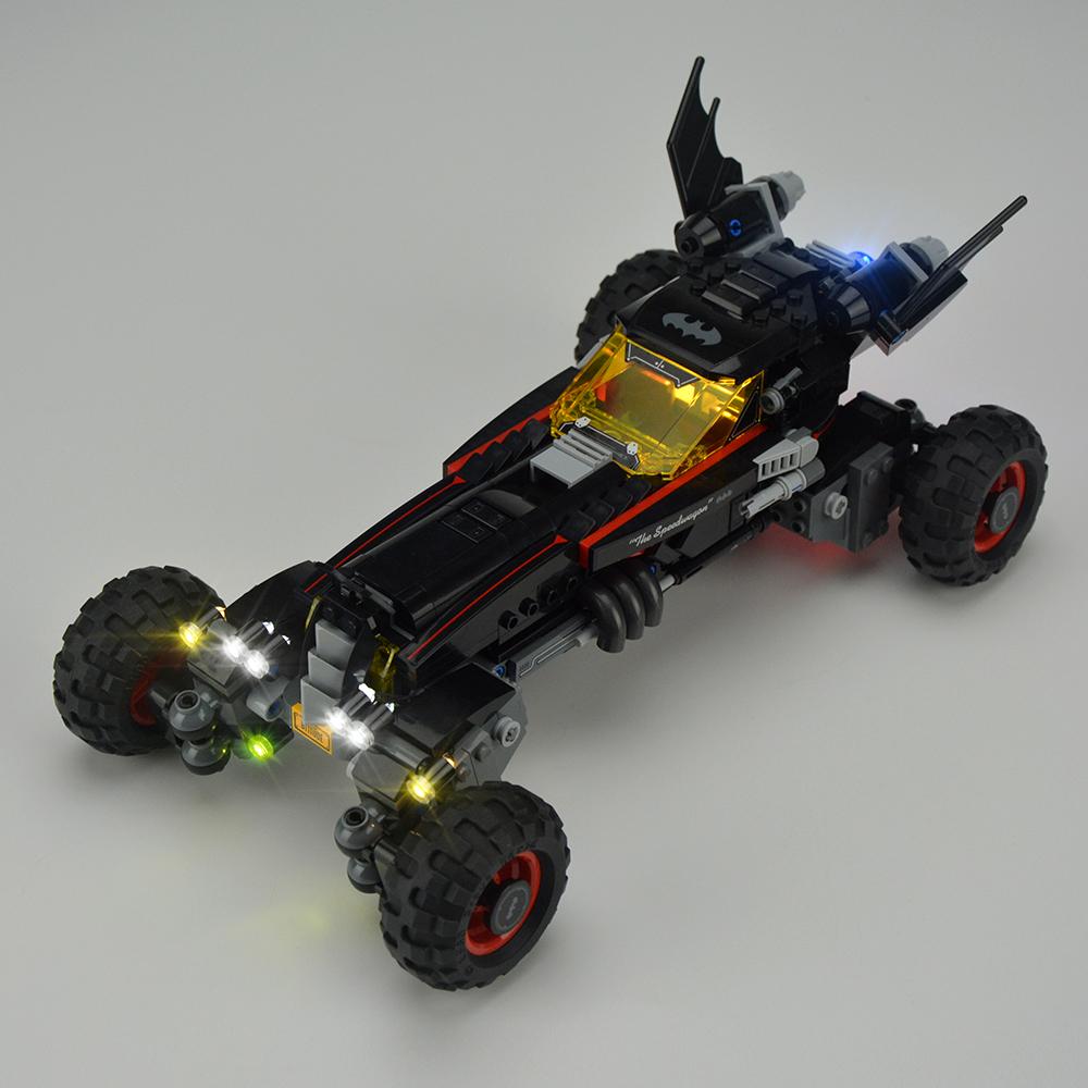 Light Kit For BATMAN MOVIE The Batmobile LED Lighting Set 70905