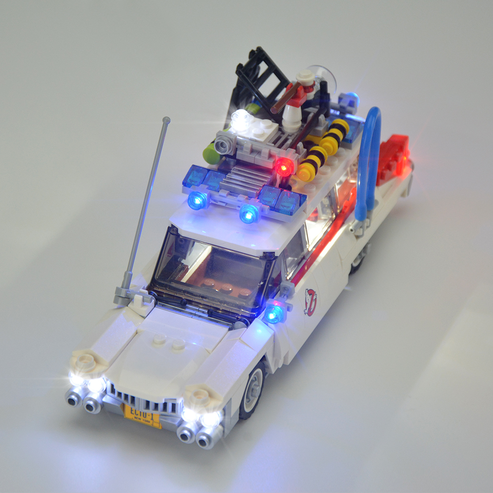 Light Kit For Ghostbusters Ecto-1 LED Lighting Set 21108