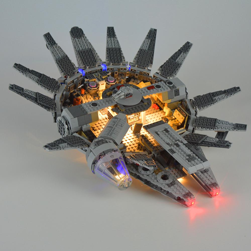Light Kit For Millennium Falcon LED Lighting Set 75105