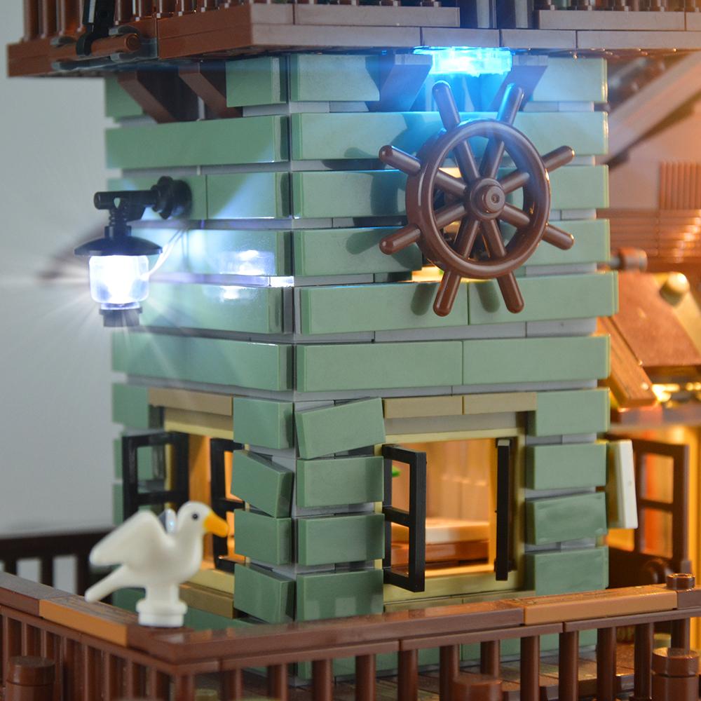 Light Kit For Old Fishing Store LED Lighting Set 21310