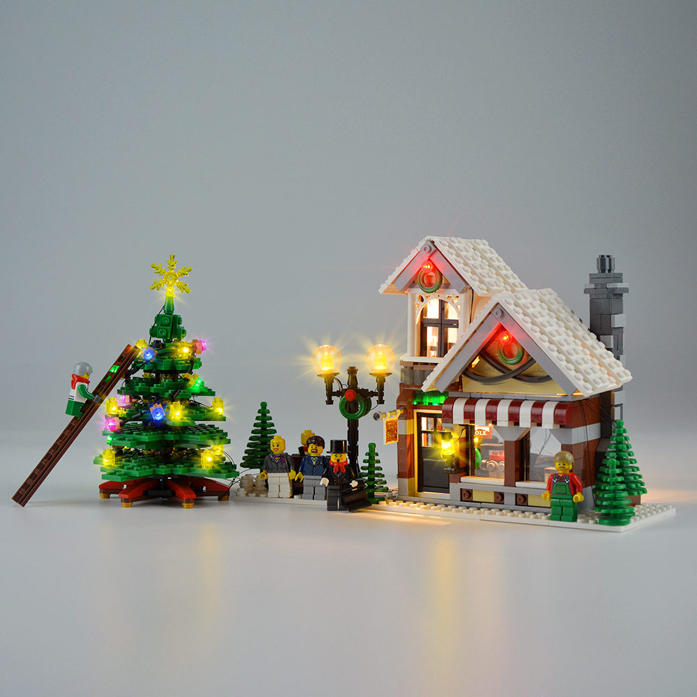 Light Kit For Winter Toy Shop LED Lighting Set 10249