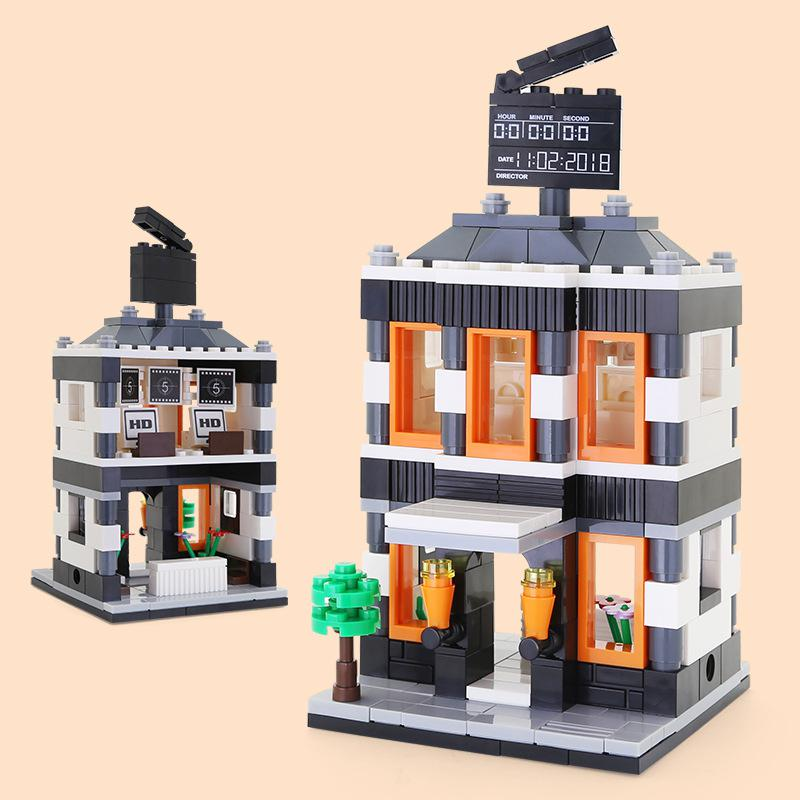 WANGE Architecture cinema 2314 Building Blocks Toy Set