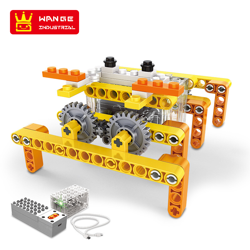 WANGE Robotic Animal Animal Electromechanical Set 6 1201-1206 Building Blocks Toy Set
