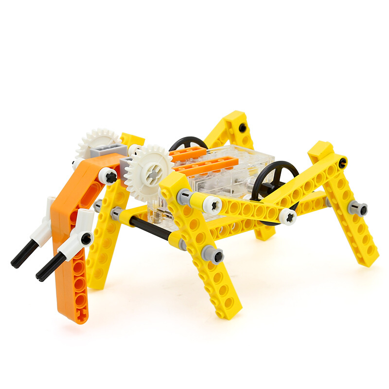 WANGE Robotic Animal Elephant Animal Electric Machinery 1202 Building Blocks Toy Set