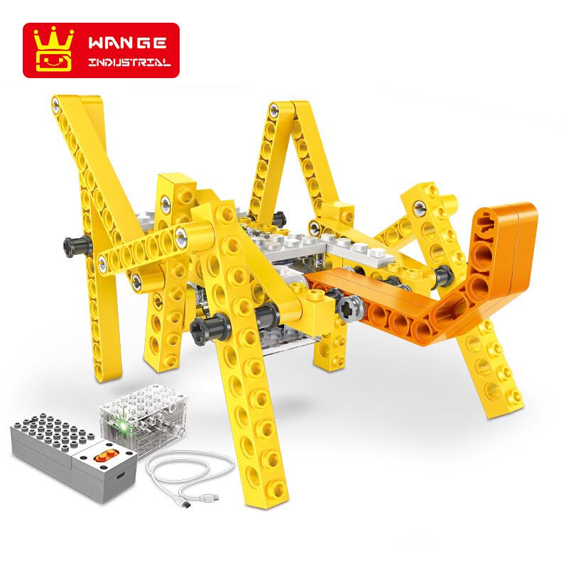 WANGE Robotic Animal Mechanical Cricket 1204 Building Blocks Toy Set