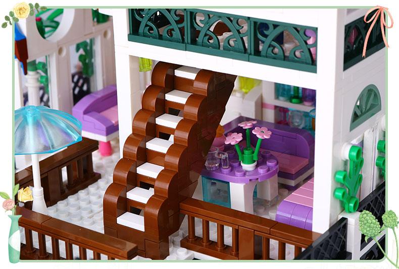 XINGBAO 01202 Romanyic Heart Building Bricks Set