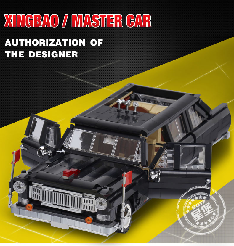 XINGBAO 03003 Master Car Building Bricks Set