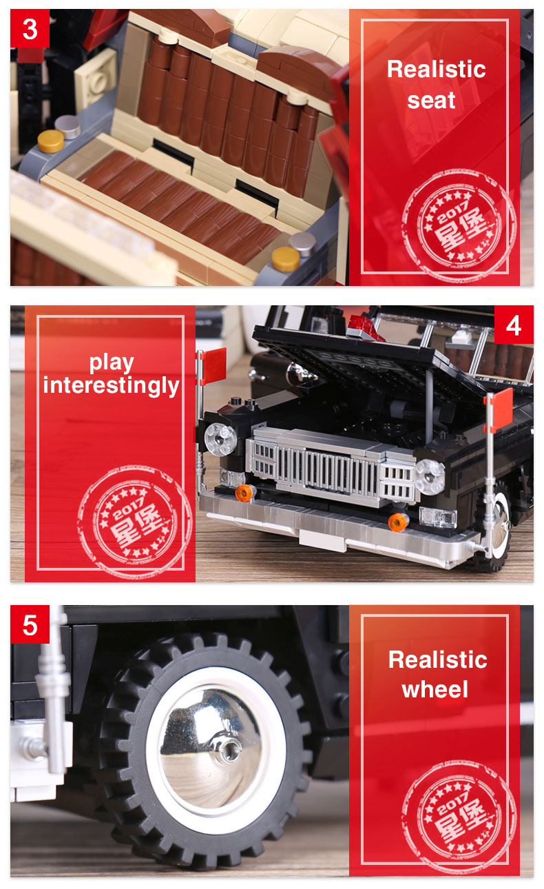 XINGBAO 03003 Master Car Building Bricks Set