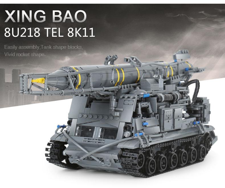 XINGBAO 06005 8u218 Tel 8k11 Building Bricks Set