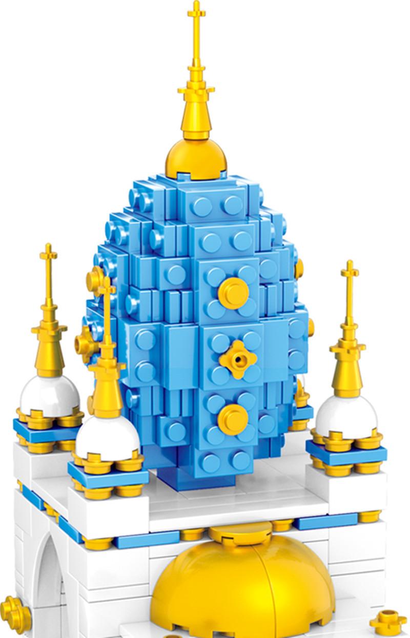 ZHEGAO QL0959 SkyCastle Building Blocks Toy Set 3206 Pieces