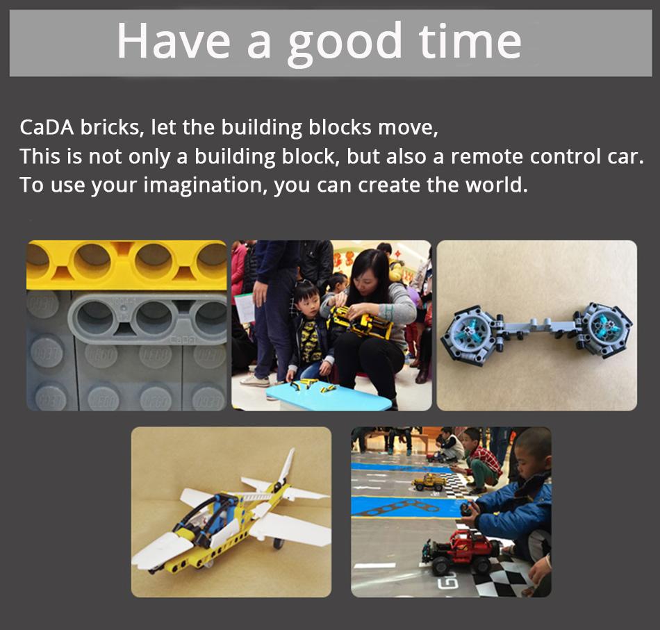 Double Eagle CaDA C51010 Building Blocks Set