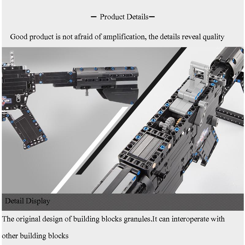 Double Eagle CaDA C81005 Building Bricks Set