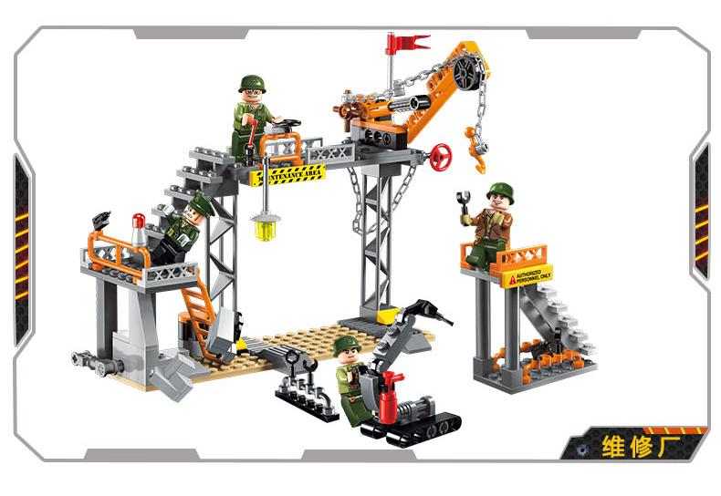 ENLIGHTEN 1712 The Ordance Factory Building Blocks Set