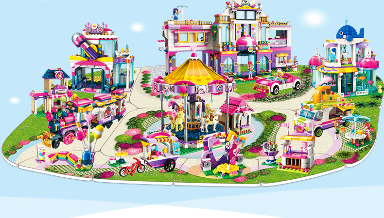 ENLIGHTEN 2015 Happy Little Train Building Blocks Set