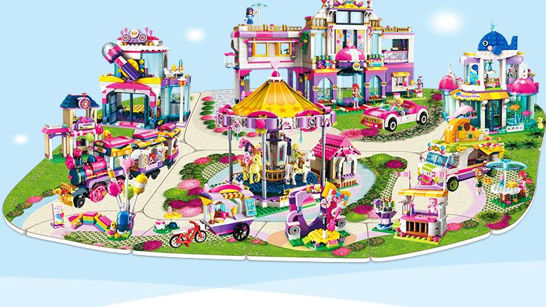 ENLIGHTEN 2017 Holiday Villa Building Blocks Set