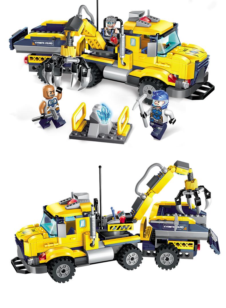 ENLIGHTEN 2407 Kyanite Transporter Building Blocks Set