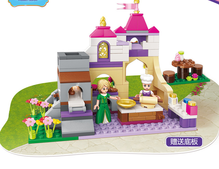 ENLIGHTEN 2603 Chansons Bakery Building Blocks Set