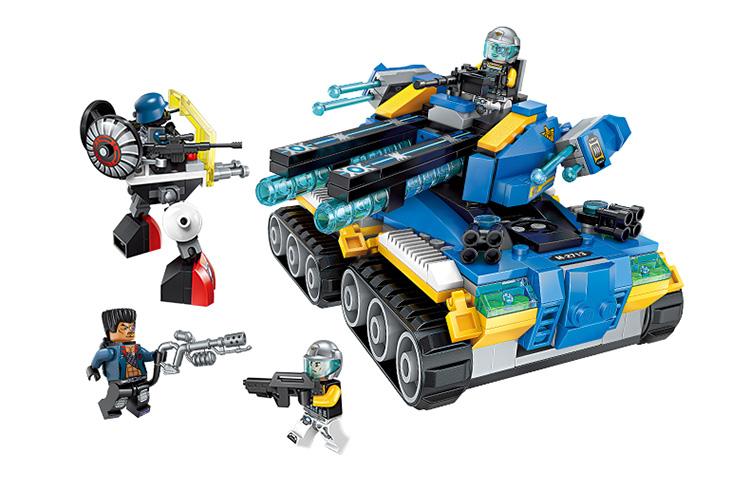 ENLIGHTEN 2713 Apocalypse Tank Building Blocks Set