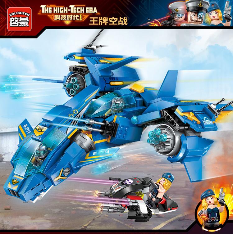 ENLIGHTEN 2714 Air Battle Building Blocks Set