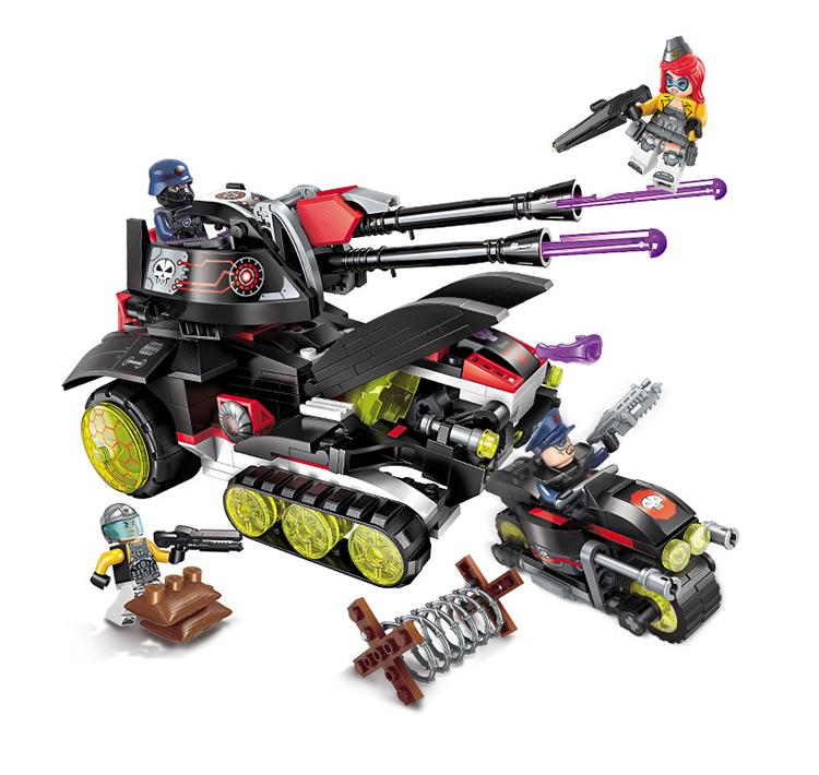 ENLIGHTEN 2715 Laser Cannon Building Blocks Set