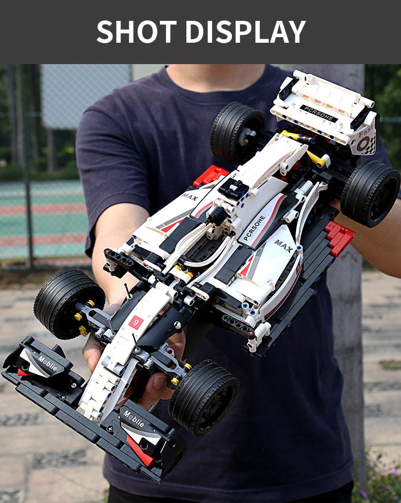 MOULD KING 13117 Technic City F1 racing car Building Blocks Toy Set