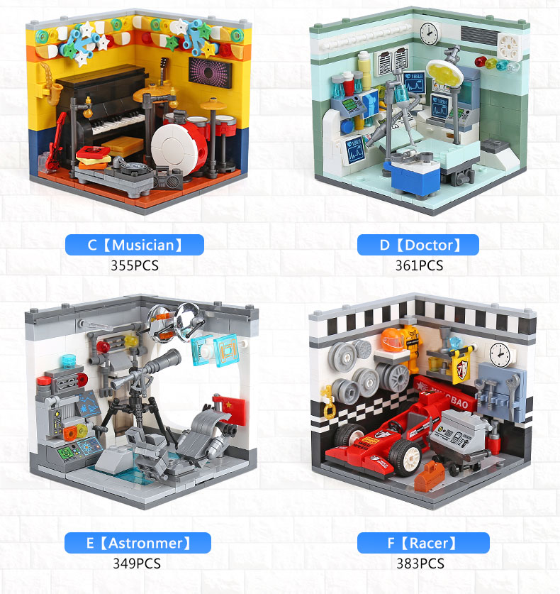 XINGBAO 01402 Future Dreamer Building Bricks Set
