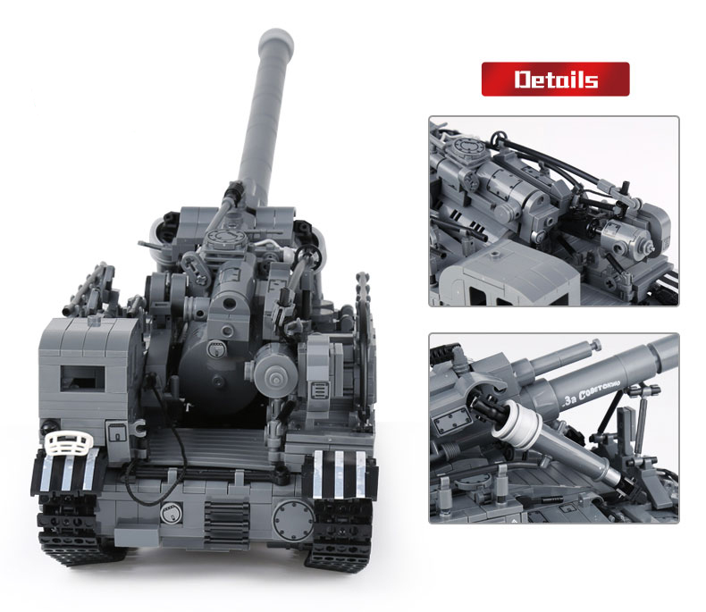 XINGBAO 06001 T92 Tank Building Bricks Set