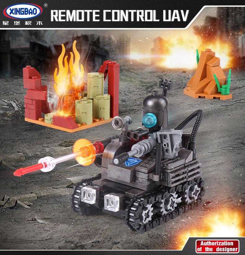 XINGBAO 06016 Remote Control UAV Building Bricks Set