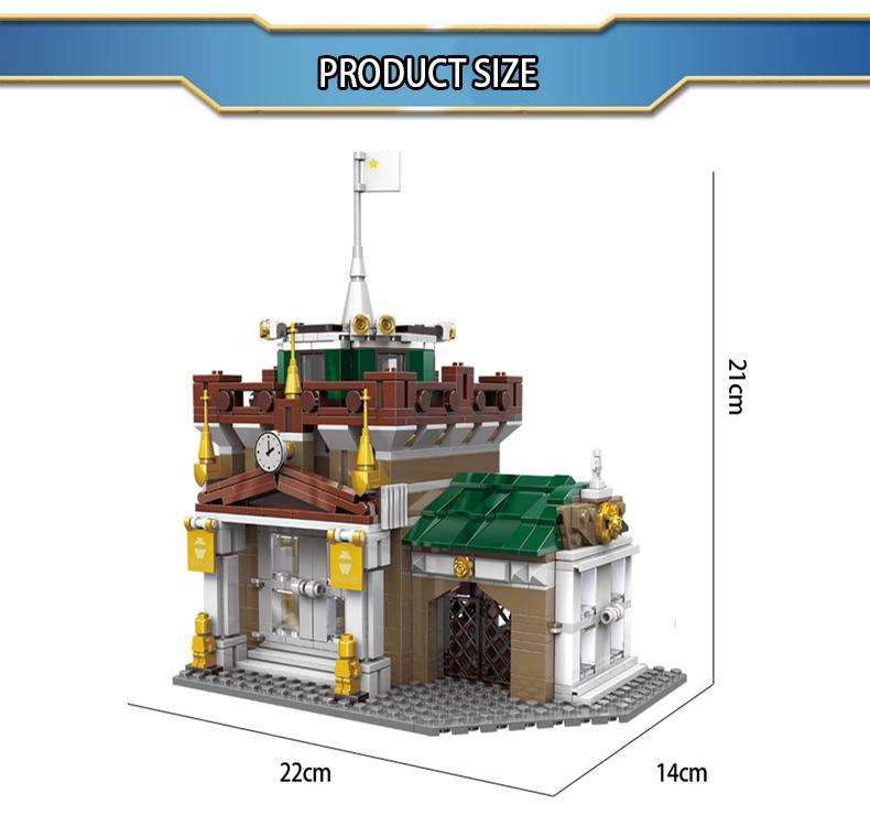 XINGBAO 10003 The Museum Robber Building Bricks Set