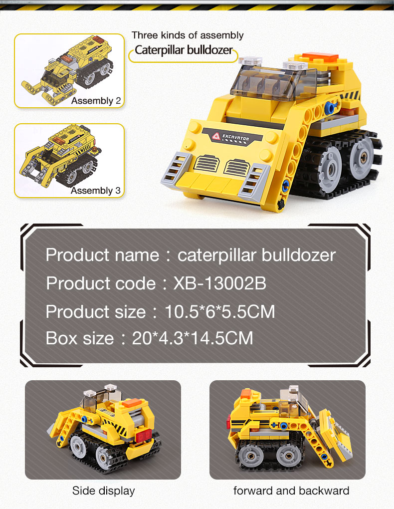 XINGBAO 13002 Excavator Building Bricks Set