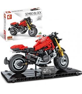 SEMBO 701103 Techinque Series Ducati 1200 Motorrad-Bausteine-Spielzeug-Set