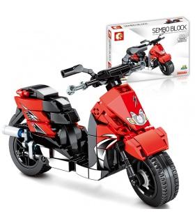 SEMBO 701109 Techinque Series JOG Motorrad-Bausteine-Spielzeug-Set