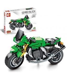 SEMBO 701112 Techinque Series Kawasaki Z1000 Motorcycle Building Blocks Toy Set