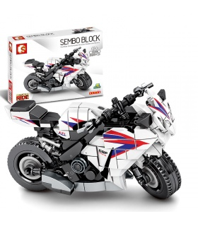 SEMBO 701114 Techinque Series Honda CBR 1000 Building Blocks Toy Set