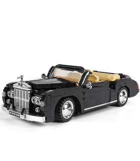 MOLD KING 10006 Vielfalt Kreative Serie 1964RR Silber Cloud Auto Bausteine Spielzeug Set