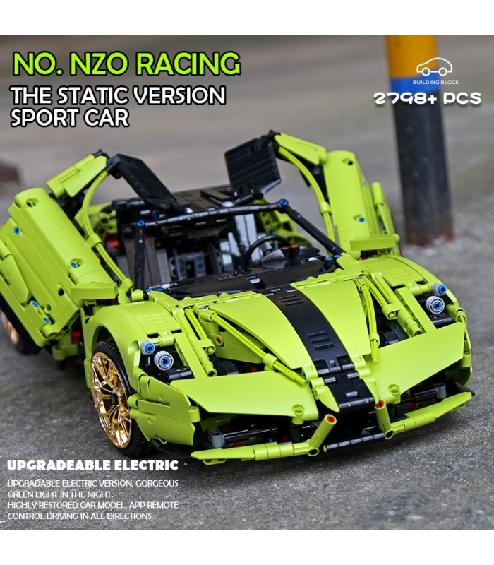 MOULD KING 13074 Car Model Series Enzo Sports Car Building Blocks Toy Set