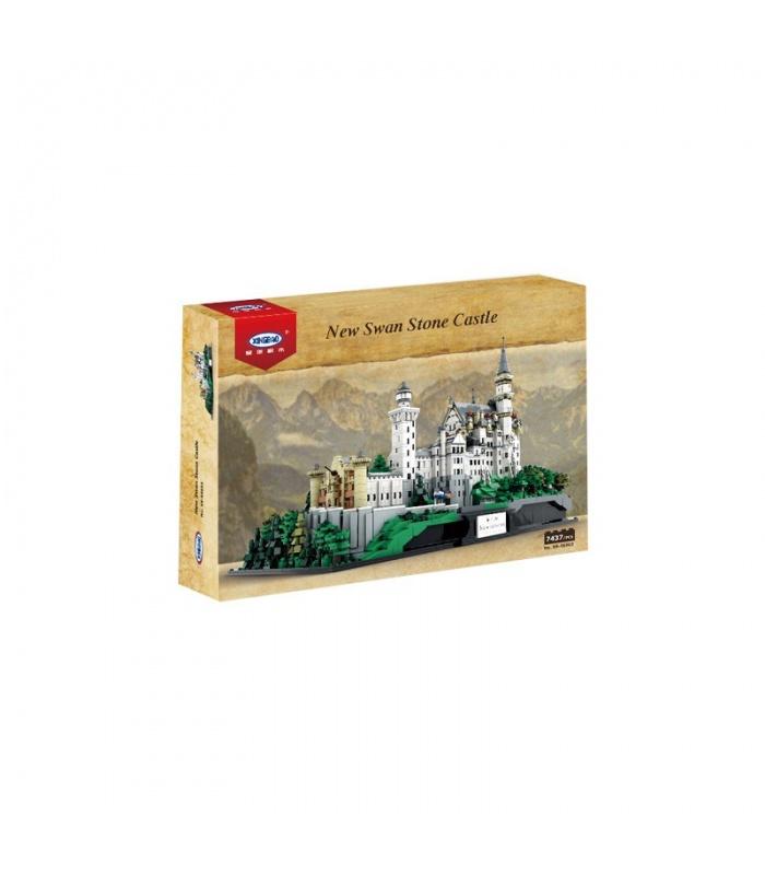 XINGBAO 05002 Neuschwanstein New Swan Stone Castle Building Blocks Toy Set