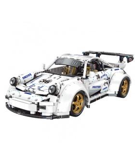 XINYU YC-QC016 X-Tech 911 Juego de juguetes de ladrillos de construcción de autos deportivos
