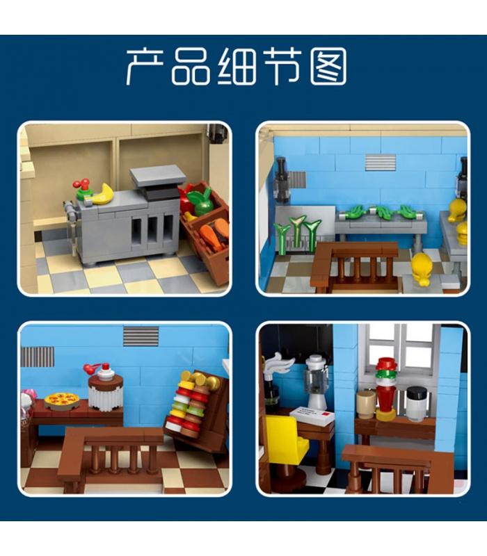 MOULD KING 16020 Street View Series European Market Building Blocks Toy Set