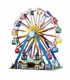 MOLD KING 11006 Fantasyland-Serie Riesenrad-Bausteine-Spielzeug-Set