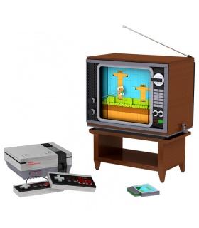 MOLD KING 10013 Videospiel-Bausteine-Spielzeug-Set
