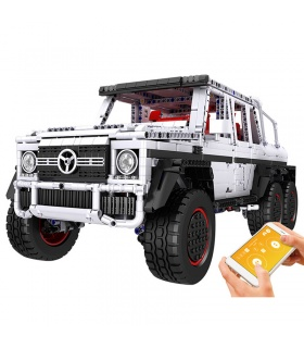 MOULD KING 13061 G700 6x6 SUV Off-Road Truck Remote Control Car Building Blocks Toy Set