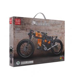MOLD KING 23005 Motorcycle Series Racing Motorrad Bausteine Spielzeug-Set