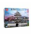 MOULD KING 22006 Himeji Castle Ustar Nazuki Building Blocks Toy Set