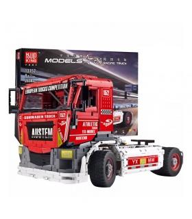 MOULD KING 13152 Big Racing Truck Building Blocks Toy Set